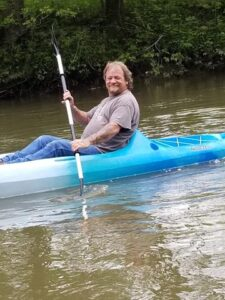 Guy in Kayak